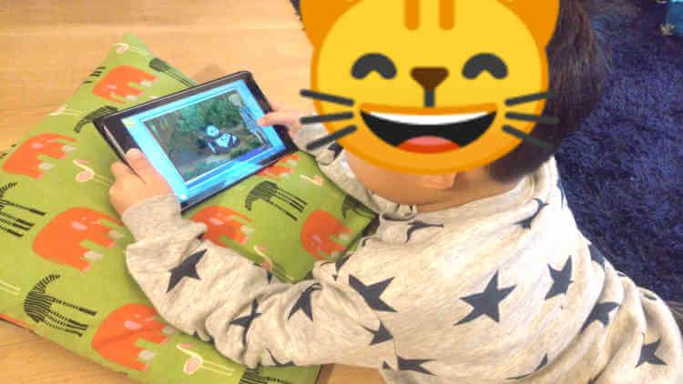 楽天ABCマウスで遊ぶ5歳