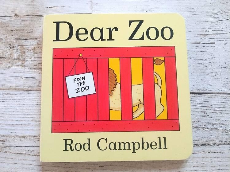 英語仕掛け絵本「Dear Zoo」表紙