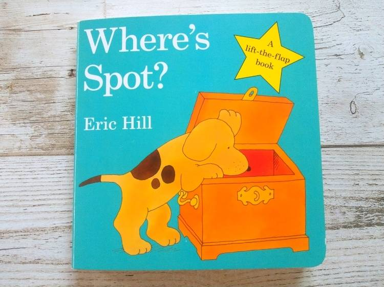 英語仕掛け絵本「Where's Spot?」表紙