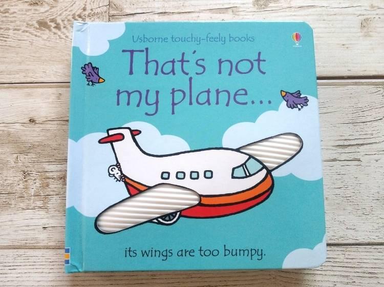 英語仕掛け絵本「That's not my plane...」表紙