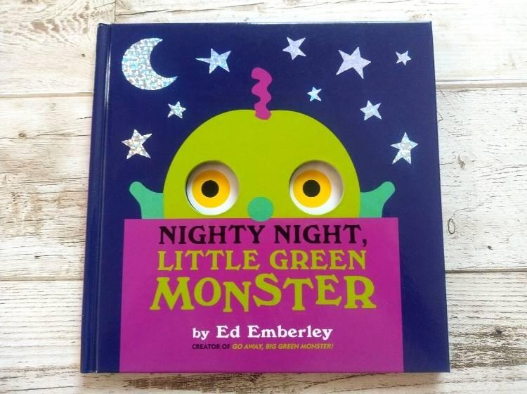英語仕掛け絵本「NIGHTY NIGHT, LITTLE GREEN MONSTER」表紙