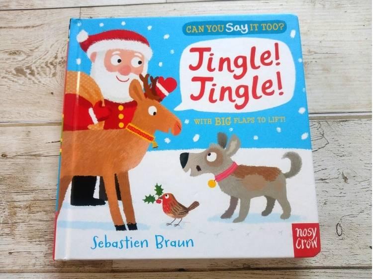 英語仕掛け絵本「Jingle Jingle」表紙