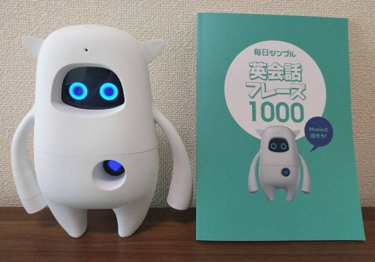 英会話ロボットMusio