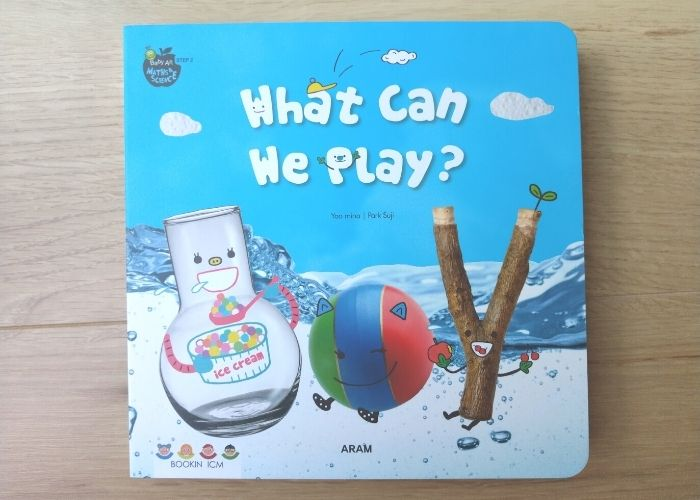 Baby All 英語絵本 What Can We Play? の仕掛け